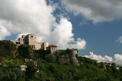 Castle in Kruje, Albania Royalty Free Stock Photos