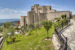 Castle in Kruje. The castle of Kruje, Albania Royalty Free Stock Photos