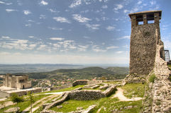 Castle in Kruje. The castle of Kruje, Albania Stock Photography