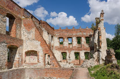 The castle in Krupe Royalty Free Stock Image