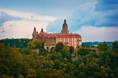 Castle Ksiaz στοκ φωτογραφίες με δικαίωμα ελεύθερης χρήσης