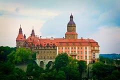 Castle Ksiaz στοκ εικόνα
