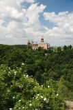 Castle Ksiaz. Ksiaz Castle in Southern Poland Royalty Free Stock Photography