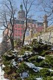 Castle Ksiaz (Fuerstenstein) - Poland Stock Image