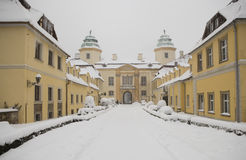 Castle in Ksiaz Royalty Free Stock Images
