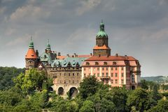 Castle Ksiaz Royalty Free Stock Images