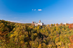 Castle Ksiaz. View on Castle Ksiaz, Poland Royalty Free Stock Image