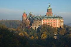 The castle Ksiaz in Walbrzych, Poland Royalty Free Stock Photos