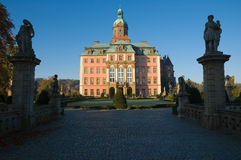 Castle Ksiaz in Walbrzych, Poland Stock Photography