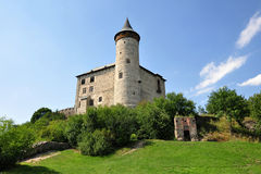Castle Kuneticka Hora in Czech republic Royalty Free Stock Images