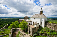 Castle Kuneticka Hora, Czech Republic Stock Images