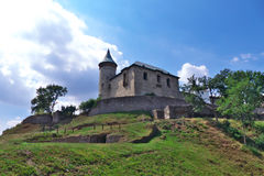 Castle Kuneticka Hora. Top of the hill Kuneticka Hora Royalty Free Stock Photos