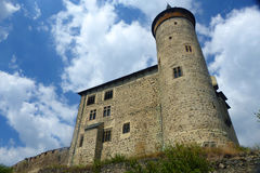 Castle Kuneticka Hora. Top of the hill Kuneticka Hora Royalty Free Stock Image