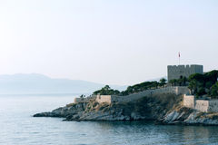 Castle in Kusadasi Royalty Free Stock Photo