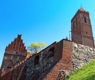 Castle in Kwidzyn. Poland Stock Photos