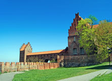 Castle in Kwidzyn . Poland Royalty Free Stock Photo