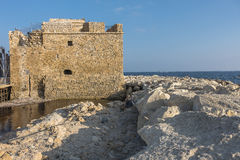 Castle in Pafos Royalty Free Stock Image