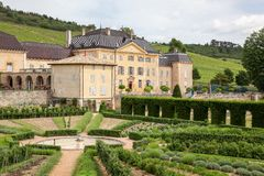 Castle of la Chaize in Beaujolais Stock Images