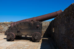Castle of La Coruña Royalty Free Stock Photo