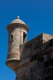 Castle of La Coruña Stock Photos