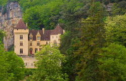 The Castle of La Malartrie, La Roque-Gageac Stock Photography