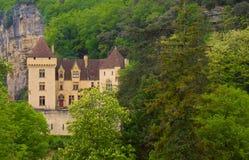 The Castle of La Malartrie, La Roque-Gageac Stock Photography