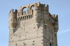 Castle of La Mota Royalty Free Stock Photos