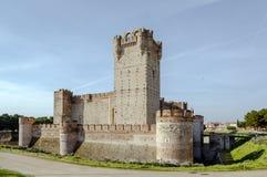 Castle of La Mota Royalty Free Stock Photo