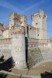 Castle of La Mota Royalty Free Stock Image