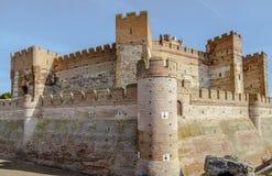 Castle of La Mota Stock Images