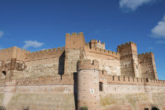 Castle of La Mota, Medina del Campo Stock Photo