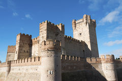 Castle of La Mota, Medina del Campo Royalty Free Stock Photos