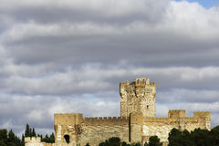 Castle of La Mota, Medina del Campo Stock Photos