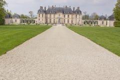 Castle in La Motte Tilly, France. Royalty Free Stock Photo