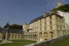 Castle of La Roche Guyon Stock Image