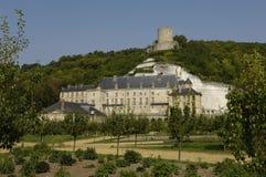 Castle of La Roche Guyon Stock Photo