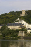 Castle of La Roche Guyon Royalty Free Stock Image