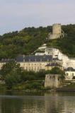 Castle of La Roche Guyon. France, castle of La Roche Guyon Royalty Free Stock Image
