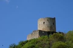 Castle of La Roche Guyon Royalty Free Stock Photos