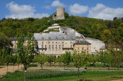 The castle of La Roche Guyon. France, the castle of La Roche Guyon Royalty Free Stock Photo
