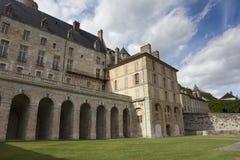 Castle of La Roche-Guyon Stock Images