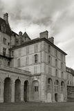 Castle of La Roche-Guyon Stock Photo