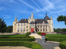 Castle Laarnem Belgium Stock Photography