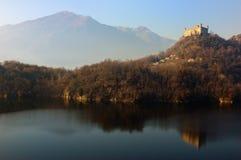 Castle lake Royalty Free Stock Image