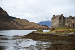 Castle on a Lake Stock Photography