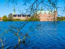 Castle Lake, Frederiksborg Slot, Hillerod, Denmark Royalty Free Stock Photography