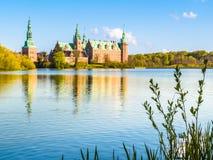 Castle Lake, Hillerod, Denmark Royalty Free Stock Photography