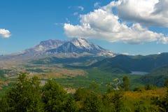 Castle Lake by Mount Saint Helens Stock Photo