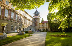 Castle in Lancut, Poland Stock Image