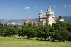 Castle landscape Royalty Free Stock Images